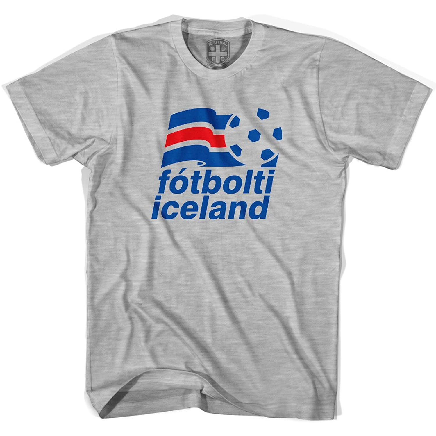 Amazon.com: Iceland Soccer T-shirt: Clothing