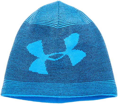 Under Armour Men's Billboard 2.0 Beanie, Mako Blue (983)/Mako Blue, One Size