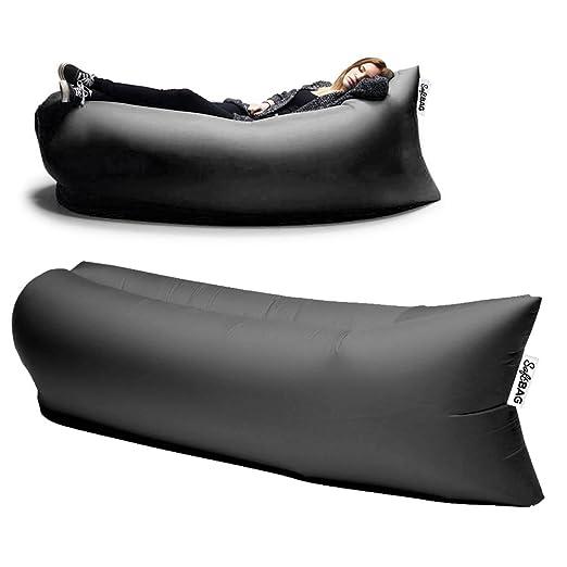 SoftBAG Puf hinchable colchón Esterilla de playa Camping ...