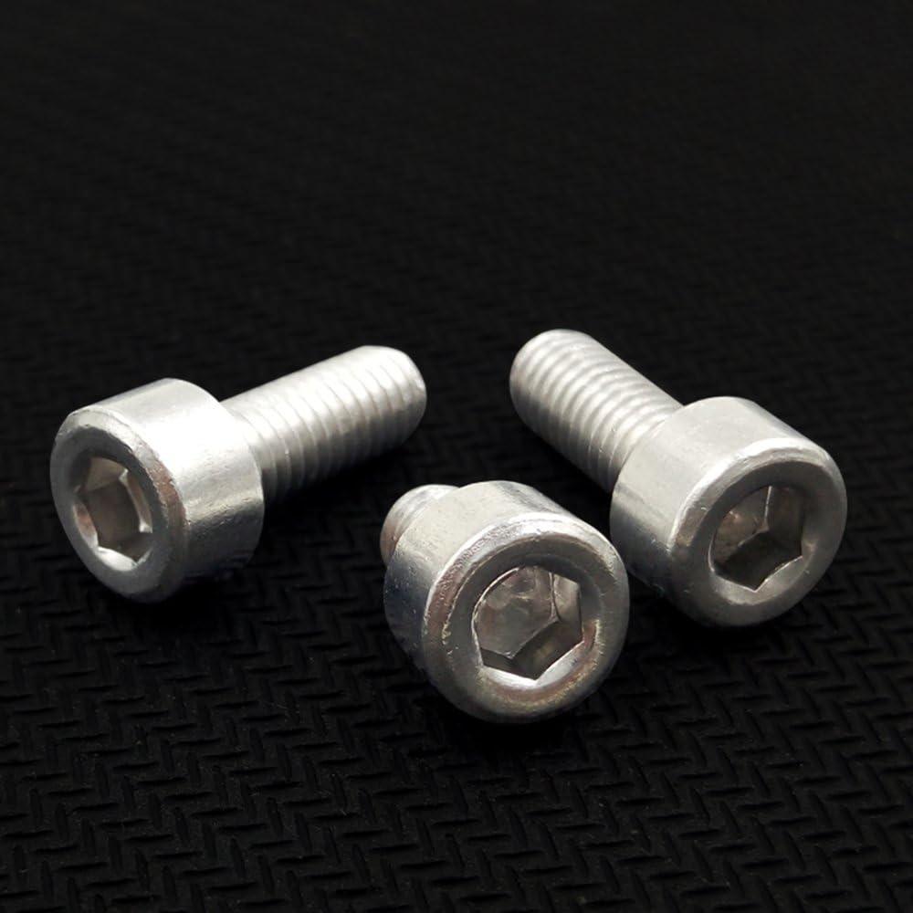 pitch 12 Pcs M3 x 0.5 x 10mm Allen Hex Socket Head Cap Screws