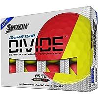 Srixon Q-Star Tour Divide-Red Yellow-Dozen, one size (10306805)