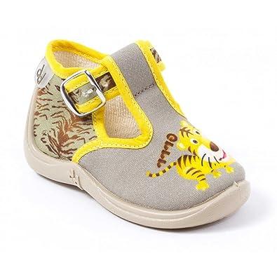 387e8f7b0f631 Babybotte Chaussons Garçon Beige Mimosa  Amazon.fr  Chaussures et Sacs