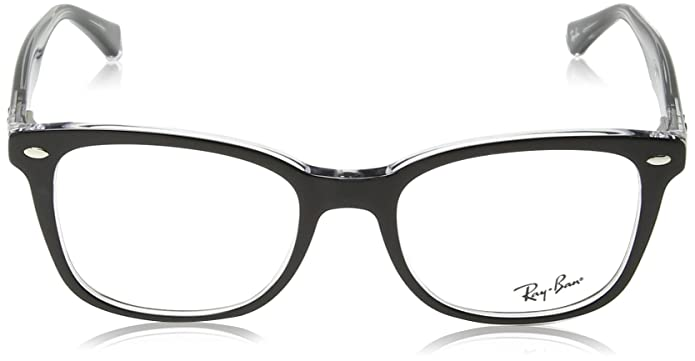 97850abdb1 Amazon.com  Ray-Ban 0rx5285 No Polarization Square Prescription Eyewear  Frame