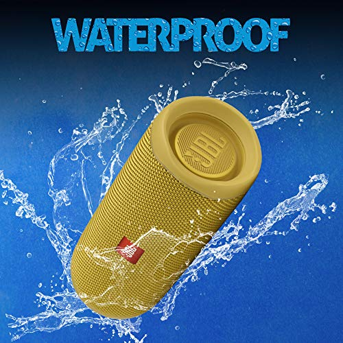 JBL FLIP5-YL Flip 5 Waterproof Portable Bluetooth Speaker, Yellow - (Pack of 1)