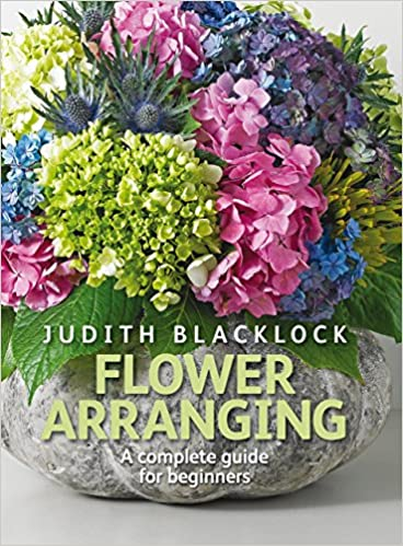 Book review of flower arranging by judith blacklock.