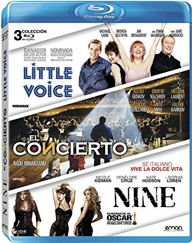 Pack: Little Voice + El Concierto + Nine