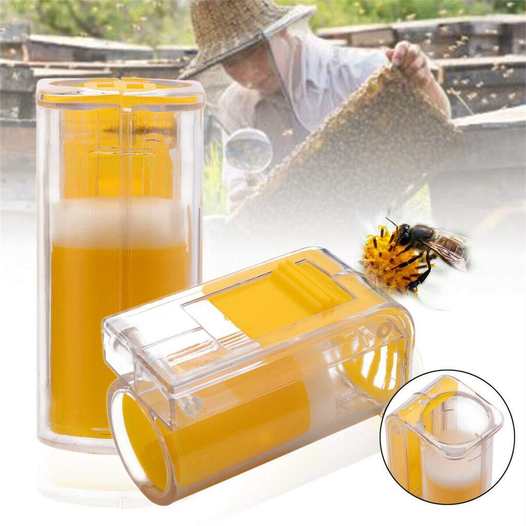 Sansee Beekeeping Supplies Pince /à Abeille /à Une Main Outil dapiculteur Mat/ériel dapiculture Coupe en Cage