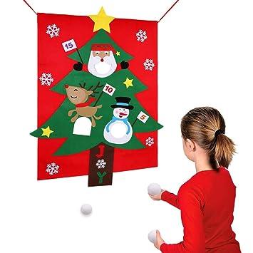 Spiele Weihnachtsfeier.Aparty4u Weihnachtsfeier Spiele Filz Weihnachtsbaum