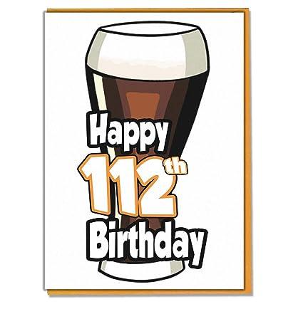 Tarjeta de cumpleaños para hombre Ale - Cerveza - 112 - para ...