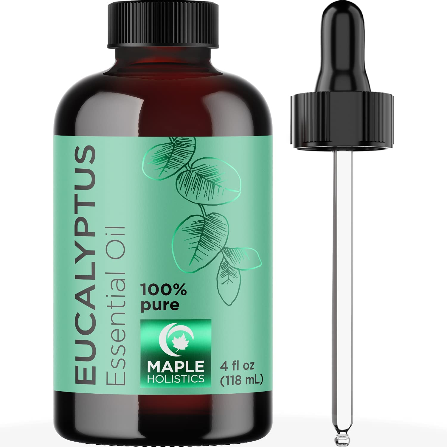 Eucalyptus Essential Oil 4 Oz - Invigorating Eucalyptus Oil for Diffuser Dry Scalp Care and DIY Skin Care - Real Eucalyptus Essential Oils for Diffusers for Home Spa Aromatherapy and Natural Bath Oil