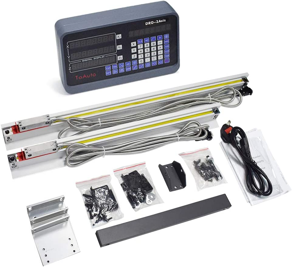 2AXIS//3AXIS MILL DIGITAL READOUT DRO DISPLAY,TTL LINEAR SCALE ENCODER SET 2YEAR