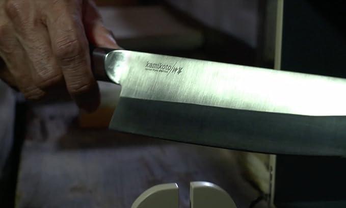 kamikoto - Senshi doble juego de cuchillos con soporte de ...