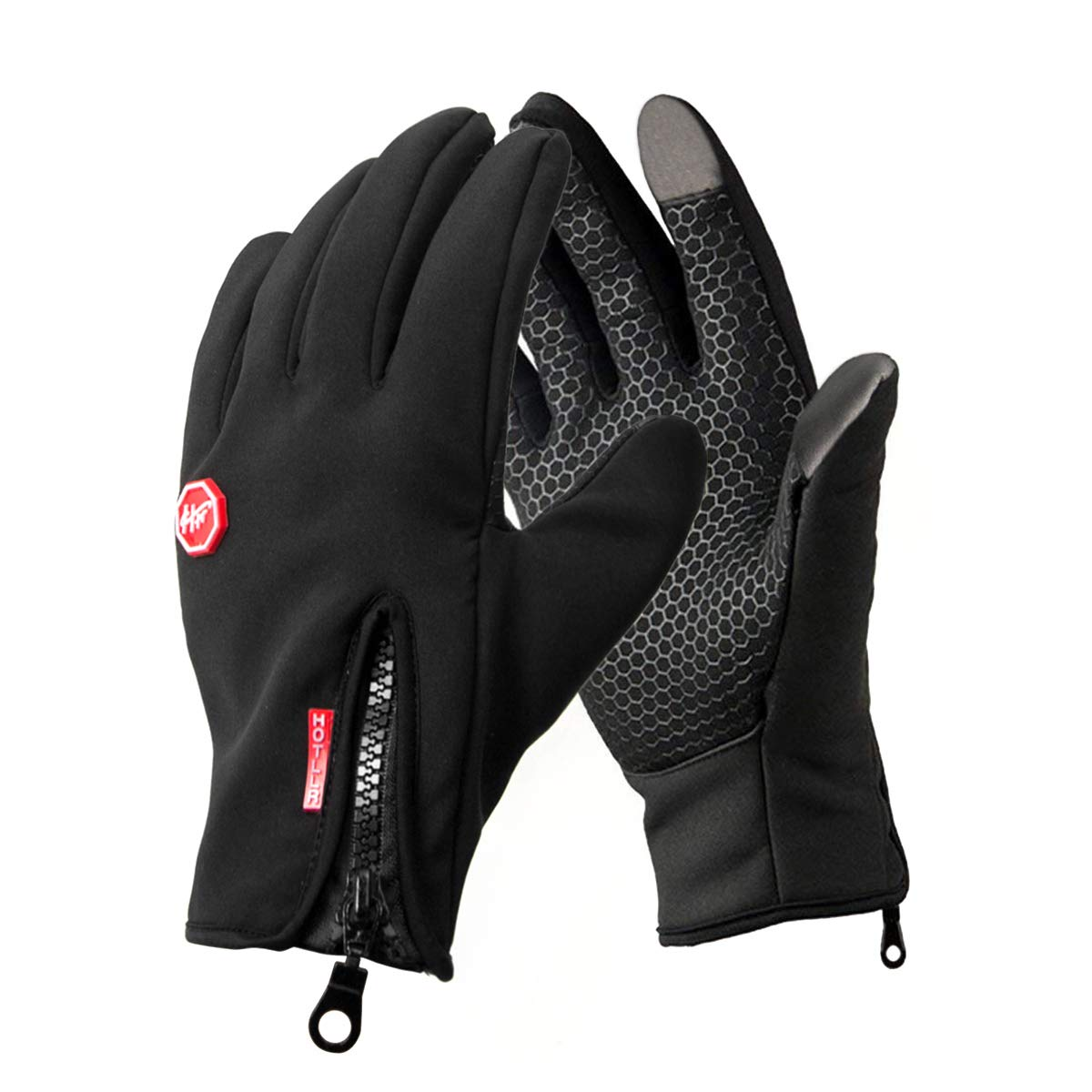 Men Cycling Gloves Full Finger Winter Fleece Bike Bicycle Gloves Touchscreen Hot