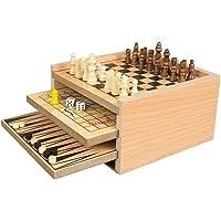 Invero® Deluxe Classic Wooden 7 in 1 Fun