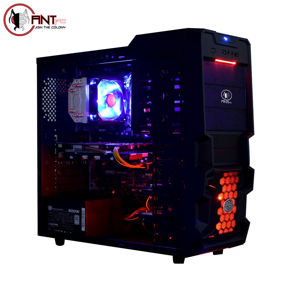 Ant PC Lasius CL100I Desktop (Intel Core i3 8100/3.60 Ghz/8GB DDR4 RAM/1 TB  HDD/Nvidia Gefroce GTX 1050 2GB): Amazon.in: Computers & Accessories