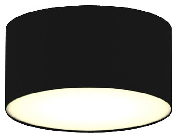 Plafoniere Per Esterno Led Ranex : Ranex plafoniera e w nero cm amazon illuminazione