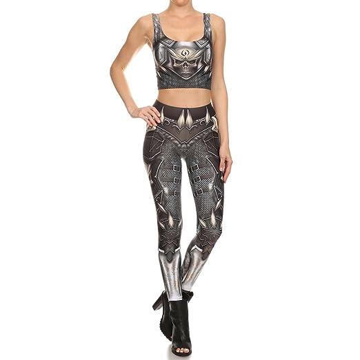 SGJFZD Nuevo diseño Mujer Leggings 3D Cadena Impresa Totem ...