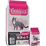 Ração Cat Excellence Salmão para Gatos Adultos 10kg