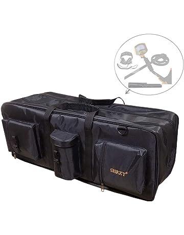 shrxy Bolsa de Transporte para detectores de Metales y Lona, portátil, Impermeable, con