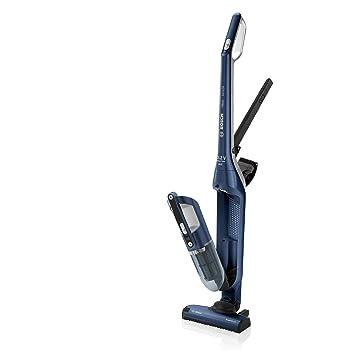 438cf1926529 Bosch Flexxo Serie 4 BCH3P255 - Aspirador Escoba 2 en 1, sin Cable y de  Mano, Autonomía de 55 Minutos, 25.2 V, Color Azul: Amazon.es: Hogar
