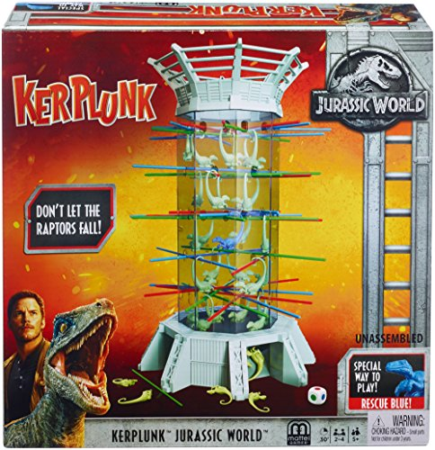 Dinosaur Monopoly - Kerplunk! Raptors Jurassic World [Amazon Exclusive]