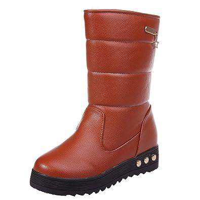 Koly Winterstiefel, warme Schnee Stiefel, Mädchen, mit