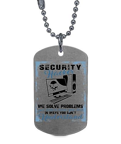 Amazon.com: DLAWNECK - Impresionante collar de hacker ...