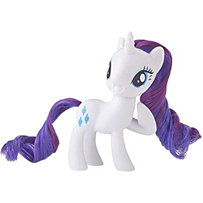 My Little Pony Mane Pony Rarity Classic Figure: Toys & Games