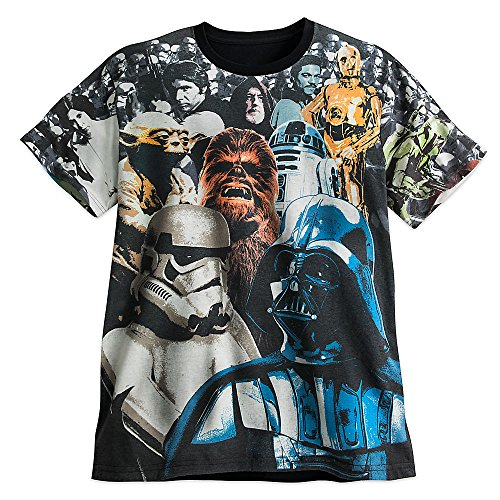 Star Wars: The Empire Strikes Back Cast Tee for Men Size MENS XL (Disney Characters Male)