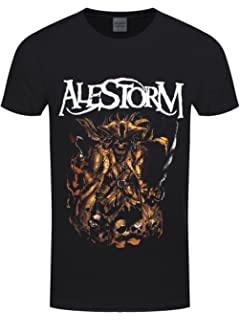 Official T Shirt ALESTORM Pirate Metal /'Drink Your Beer/' All Sizes