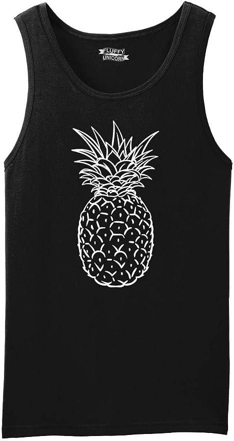 A Pineapple A Day Keeps The Worries Away Mens Tank Top Shirt