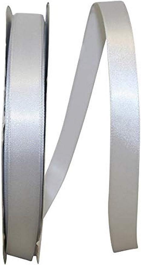 White Reliant Ribbon 5000-030-03C Double Face Satin Allure Dfs Ribbon