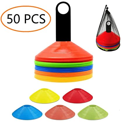 Amazon.com: ANSLYQA Conos de disco (juego de 50) conos de ...