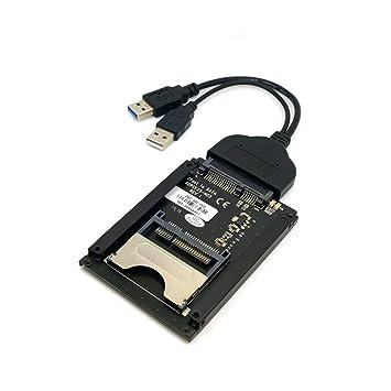 SATA - Adaptador de Tarjeta de 22 Pines a USB 3.0 a CFast de ...
