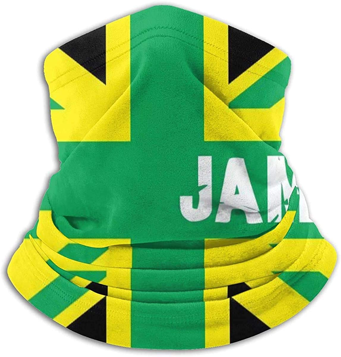Neck Gaiter Warmer Windproof Mask Dust - Free UV Face Mask - Jamaica Jamaican Kingdom Flag