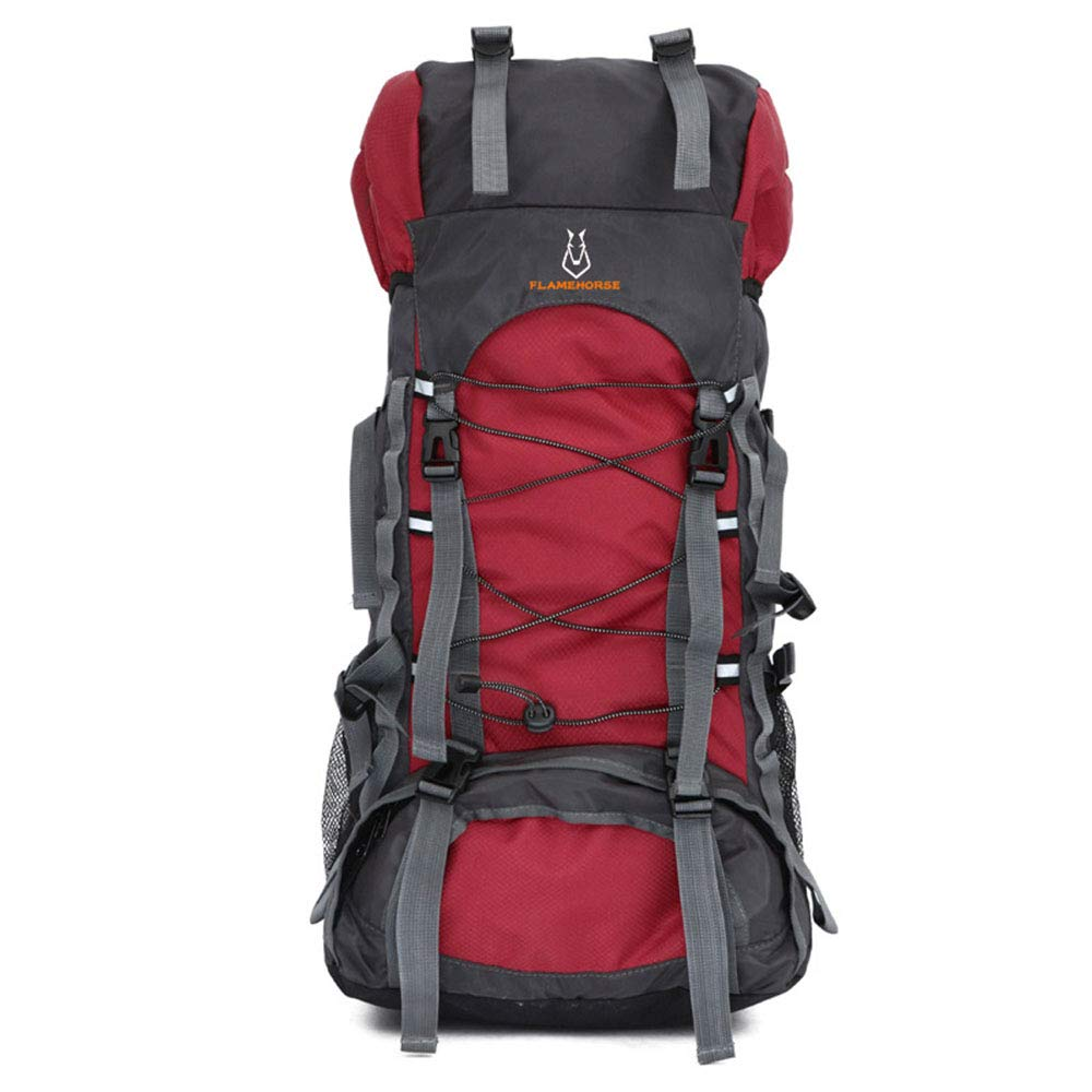 A  de plein air Haute Qualité Voyage Sac à Dos Hommes Femmes Camping Alpinisme Randonnée Sacs à Dos en Nylon Oxford Dry Dry sac 60L