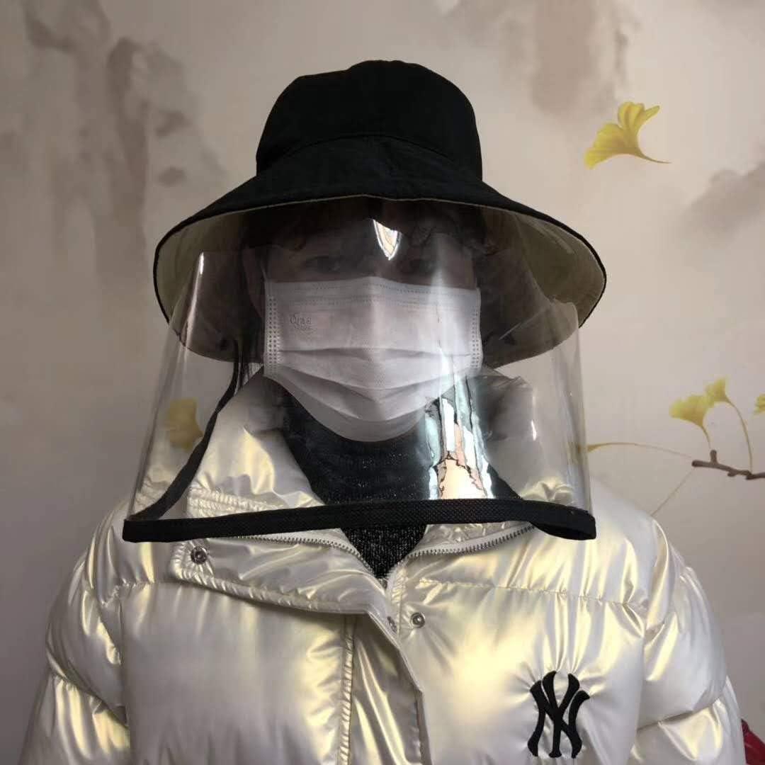 Angenehm und Adjustable HOLULO Sicherheitsgesichtsschutz Gesichtsschutz-Maske Breites Visier kompletter Schutz Baseballkappe