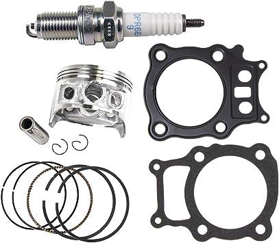 8TEN Cylinder Piston Gasket Cylinder Head Kit For Honda Rancher TRX350 2000-2006 Replaces 12100-HN5-670