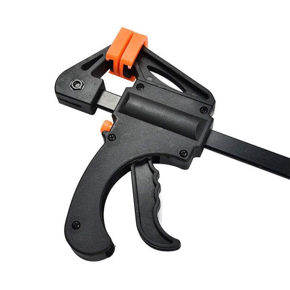 4 x 103mm Holzbearbeitung Backen Ratsche Bar Trigger Quick Grip Bar Schellen Zimmerei F-Clamp Tool DIY Hand Gadget