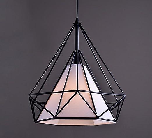 Lámpara colgante VINTAGE - Lámpara de techo retro Edison ...