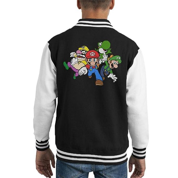 Cloud City 7 Team Super Mario Kids Hooded Sweatshirt