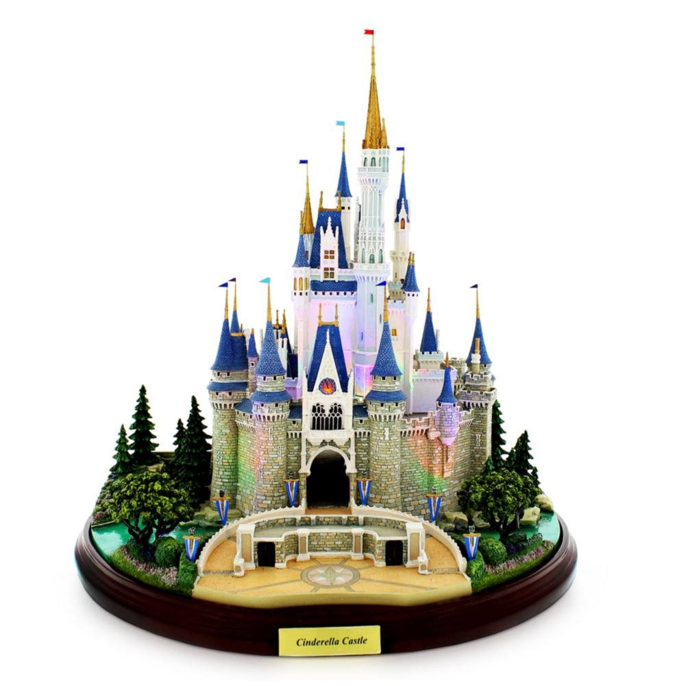 Disney Main Street USA Cinderella Castle Miniature by Olszewski Walt World Exclusive