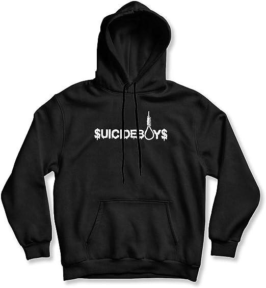 Suicide Boys Men/'s Black Hoodie