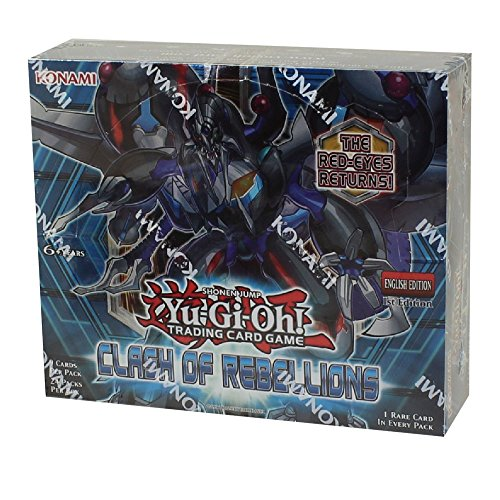 Yugioh Clash of Rebellions - TCG Trading Card Game 1st Edition Booster Box - 24 packs / 9 cards! by Yu-Gi-Oh!