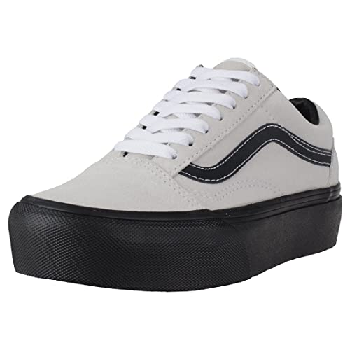 b1ff2da499 Vans Old Skool Platform Donna Scarpe da Ginnastica Light Grey - 3 UK ...