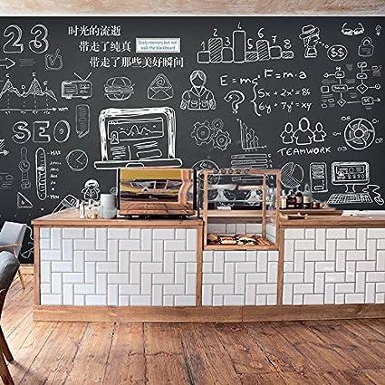 Tantoto 3D Wallpaper La Pizarra De Tiza Leche Graffiti Tea ...