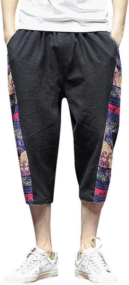 Pantalones Chandal Hobre Pantalon Bombacho Verano Pantalones Sport ...