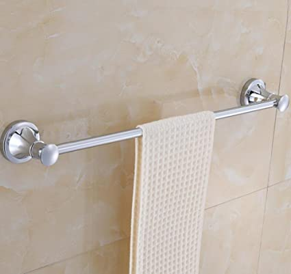GuoEY Acero Inoxidable de Pared Support-Door Toallas para baño, Accesorios de Baño,