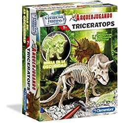 Arqueojugando Triceratops Fluor
