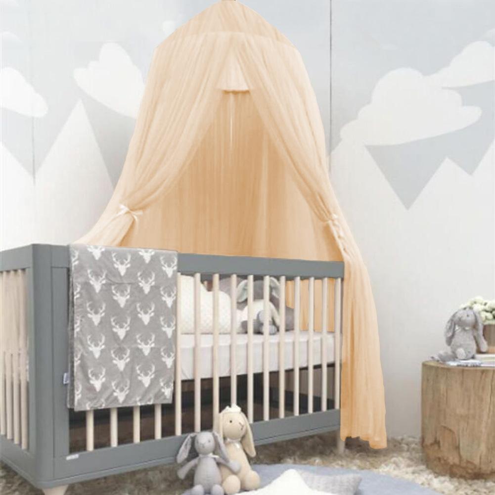 Anti-moustiques et Mouches Wal front Toile moustiquaire en Forme de d/ôme pour Enfants bloquant efficacement la poussi/ère et la lumi/ère /éblouissante Yellow
